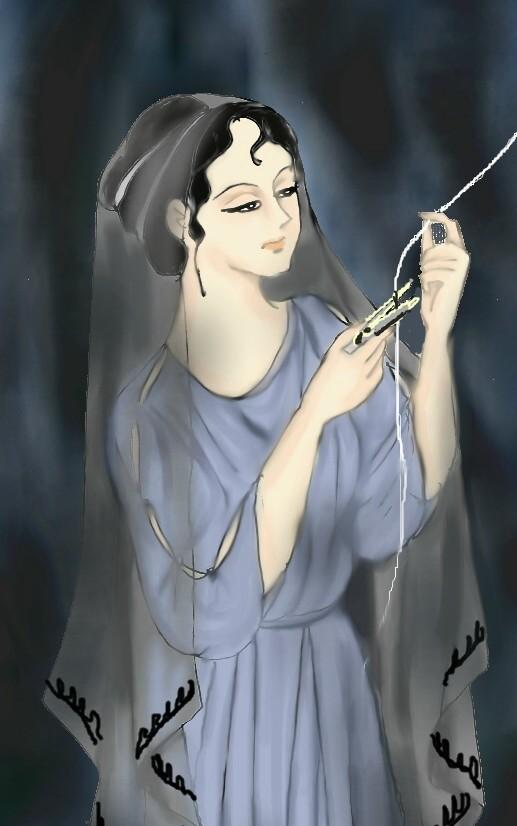 運命の女神(アトロポス)