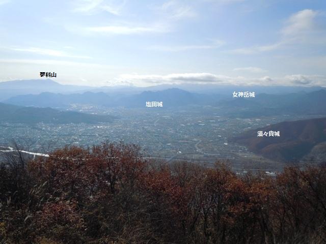 虚空蔵山からの遠景①