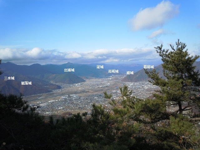 虚空蔵山からの遠景②
