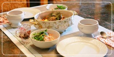 鶏もも肉と野菜のオーブン焼き