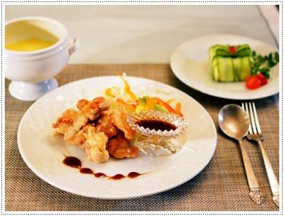 chicken照り焼き&ポテトサラダ