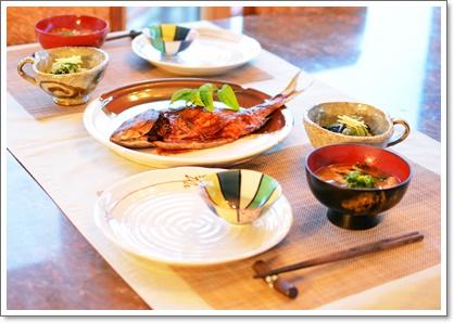 タイの味噌焼きで夕飯