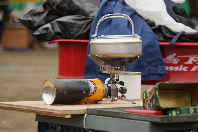 岩谷カセットガス ジュニアバーナー CB-JRB-2 で湯を沸かす