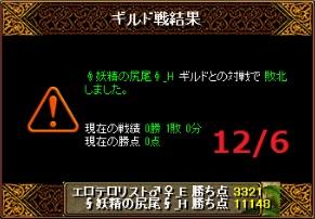 VS妖精の尻尾_H結果20151206