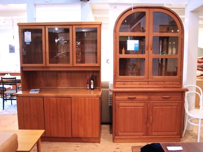 北欧食器棚