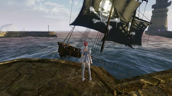 11月15日オースで荒ぶる船