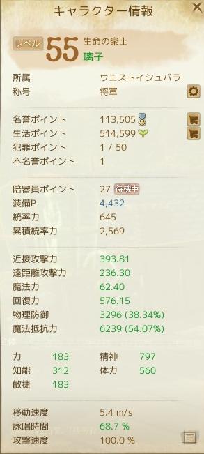 11月18日キャラクター情報