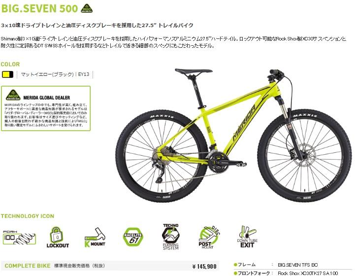 ビックセブン500