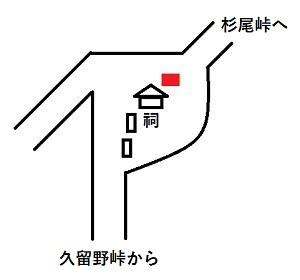 行者杉石標位置
