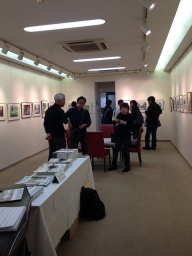5人展ギャラリー香2015写真