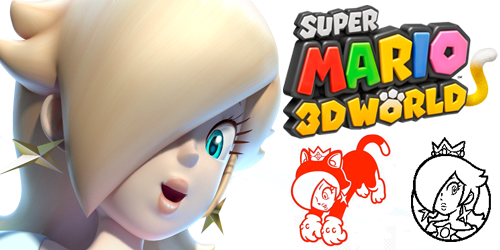 ロゼッタまとめスーパーマリオ3Dワールド