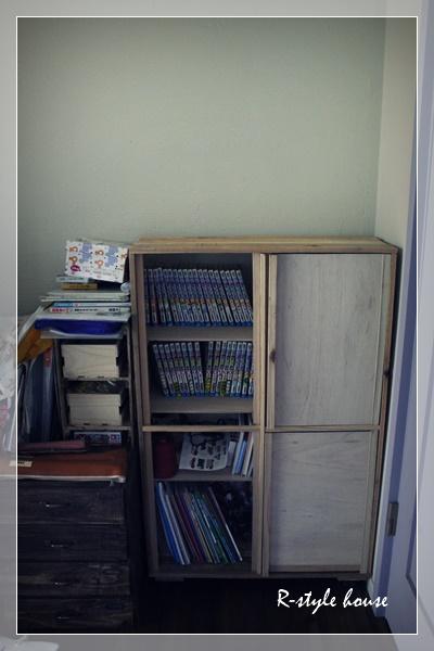 手作り本棚2