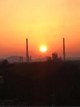 倉敷の夕日2