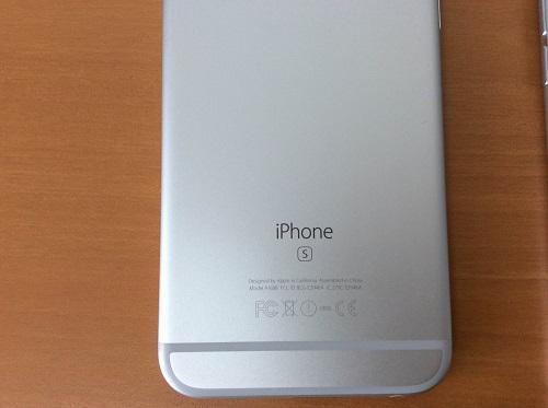 iPhone6sの刻印