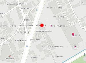 桃山亭地図