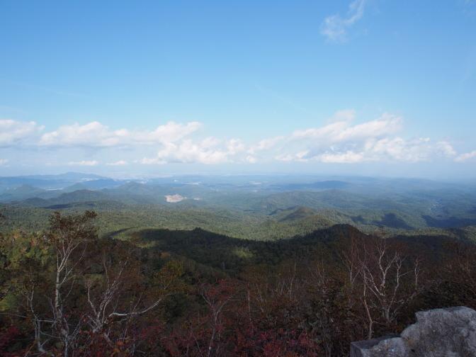 空沼岳から札幌方面の眺め