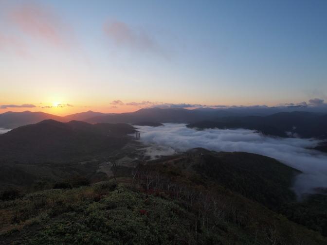 トマム雲海テラスの雲海
