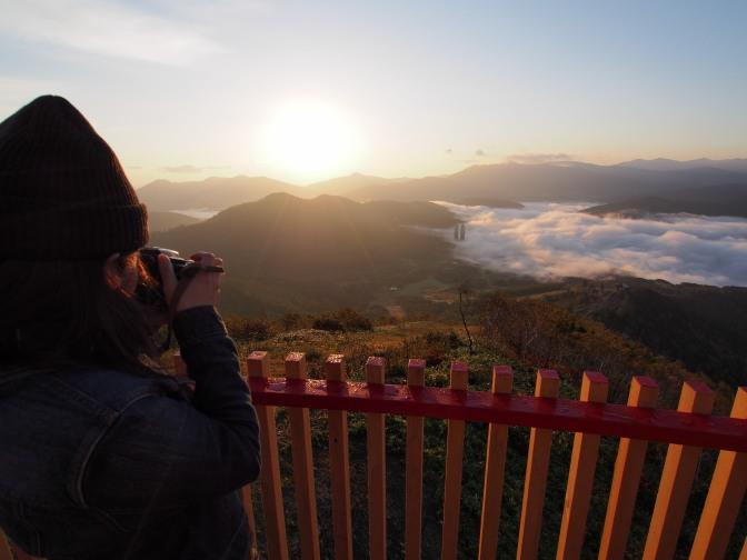 「クラウドウォーク」から雲海を撮る
