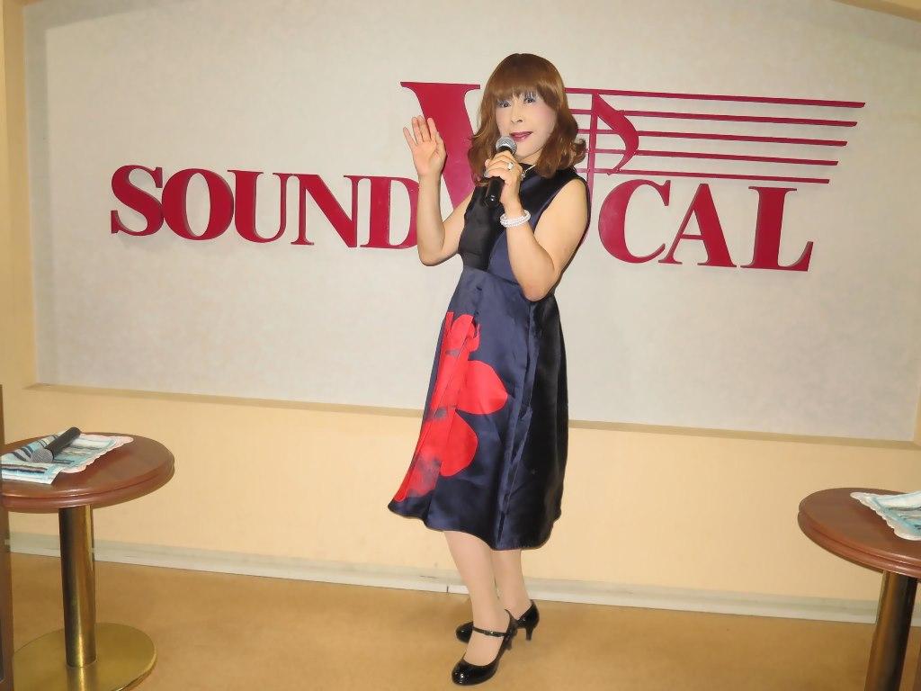紺ワンピカラオケ(5)