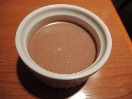 チョコレート豆乳プリン