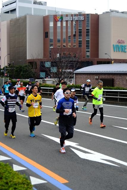 CineXenon4020と横浜マラソン