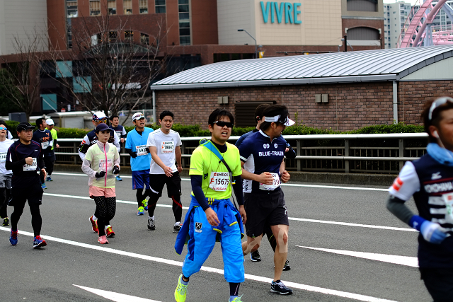 FD50/1.4SSCと横浜マラソン
