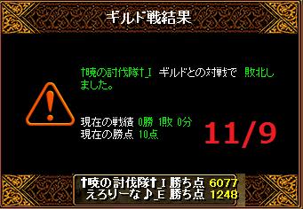 119えろりなvs†暁の討伐隊†