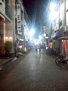 20150504夜の商店街(その1)
