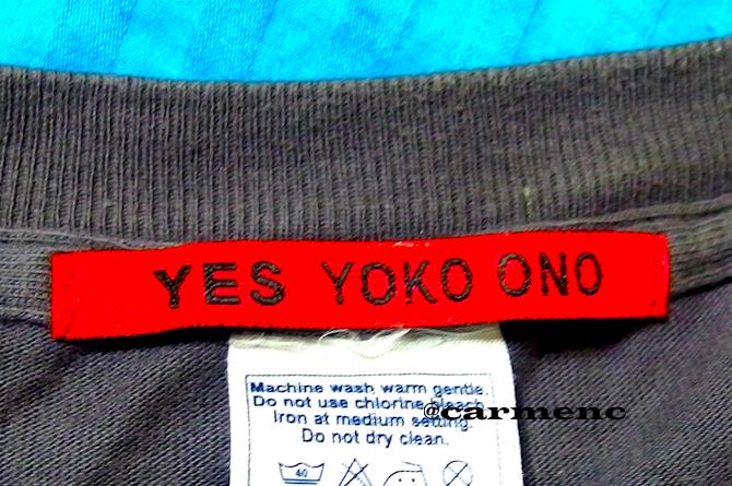 yoko ono Tシャツ