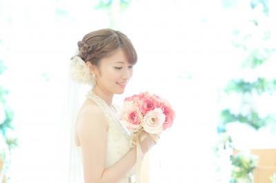 ブライダル表紙花嫁