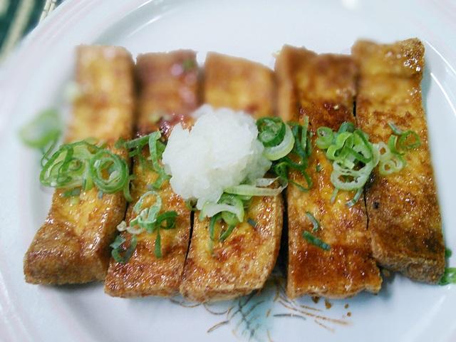 11油揚げの生姜焼き絡め