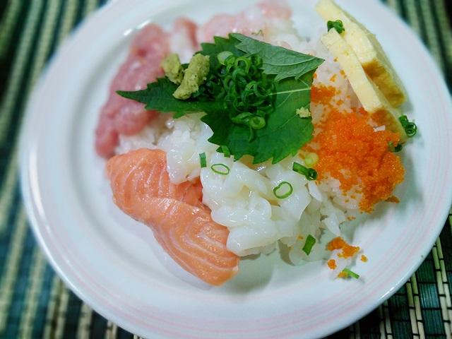 x海鮮ちらし寿司