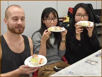 20151016 食べる 5  手まり寿司