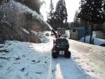 母屋への私道除雪