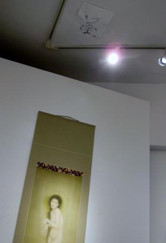 桑原聖美 個展にて