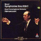 モーツァルト 交響曲第40&41番 アーノンクール ロイヤル・コンセルトヘボウ管弦楽団(Teldec)