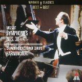 モーツァルト 交響曲第38~41番 アーノンクール ヨーロッパ室内管弦楽団(Teldec)