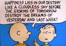 ライナス語録 幸福とは