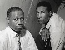 クリフォード・ブラウンとマックス・ローチ(右)