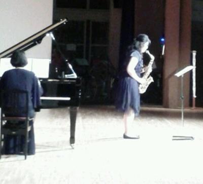 ピアノサックス