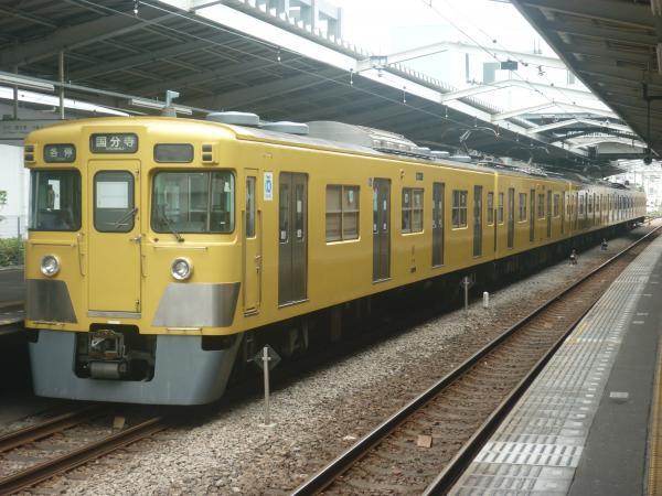 2014-07-23 西武2009F 各停国分寺行き 6684レ