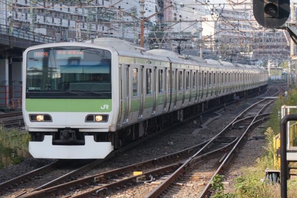 2015-10-24 山手線E231系トウ539編成 渋谷・新宿方面行き