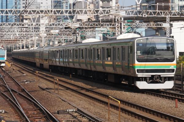 2015-10-24 上野東京ラインE231系ヤマU512編成