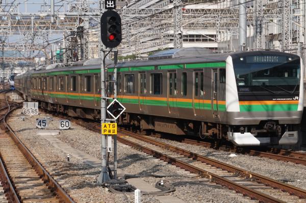 2015-10-24 上野東京ラインE233系ヤマU627編成