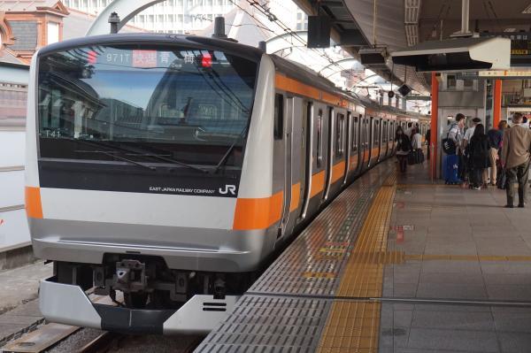 2015-10-24 中央線E233系トタT41編成 快速青梅行き