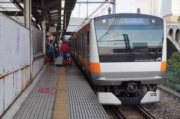 2015-10-24 中央線E233系トタT41編成 中央特快東京行き