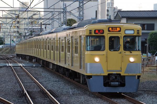 2015-11-03 西武2001F 急行本川越行き