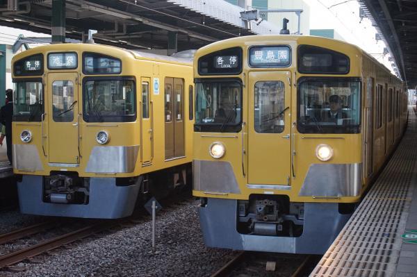 2015-11-03 西武2087F 2533F+2531F