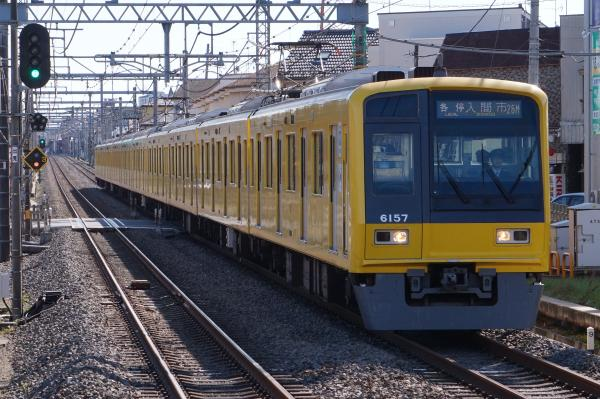 2015-11-03 西武6157F 各停入間市行き