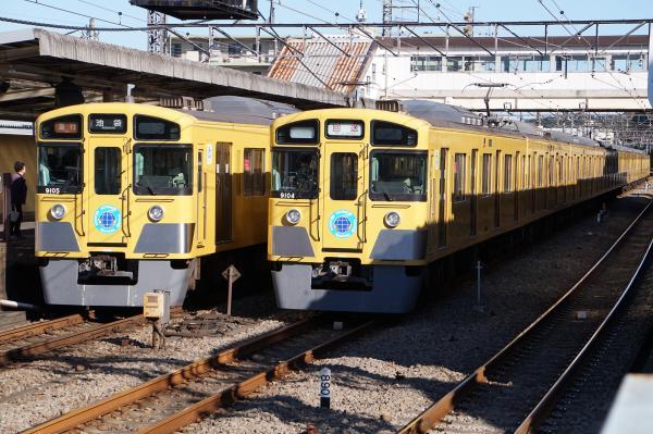 2015-11-03 西武9104F 9105F